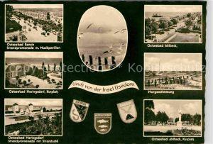 Ahlbeck Ostseebad Bansin Heringsdorf   Kat. Heringsdorf Insel Usedom