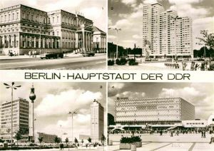 Berlin Palais Unter den Linden Leninplatz Alexanderplatz  Kat. Berlin