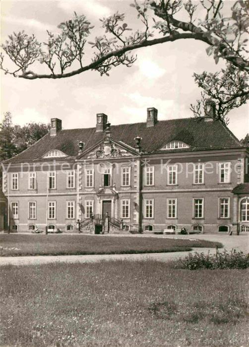 Kluetz Schloss Bothmer Kreisfeierabendheim Kat. Kluetz