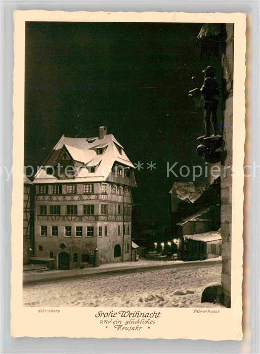 Nuernberg Duererhaus Kat. Nuernberg