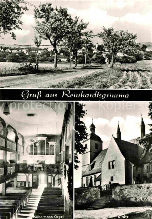 Reinhardtsgrimma Silbermann Orgel Kirche  Kat. Reinhardtsgrimma
