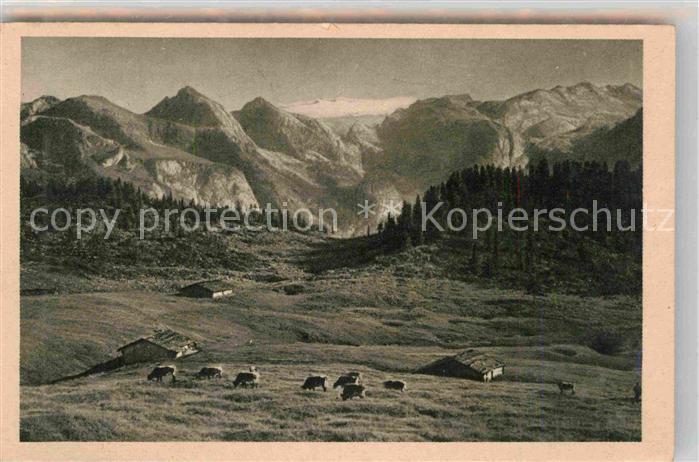 Berchtesgaden Panorama Kat. Berchtesgaden