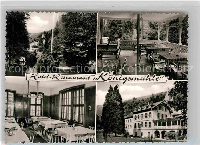 Neustadt Weinstrasse Hotel Restaurant Koenigsmuehle Kat. Neustadt an der Weinstr.