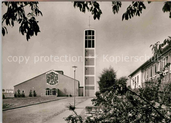 Landau Pfalz Kirche Sankt Albert Kat. Landau in der Pfalz