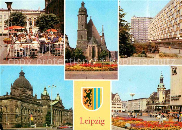 ak ansichtskarte leipzig naschmarkt alte handelsboerse thomaskirche pelzzentrum am bruehl. Black Bedroom Furniture Sets. Home Design Ideas
