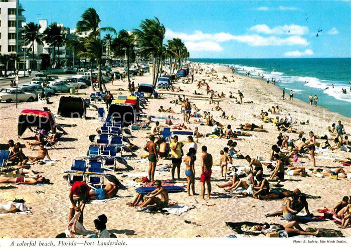 Fort Lauderdale Beach Atlantic Ocean Kat. Fort Lauderdale