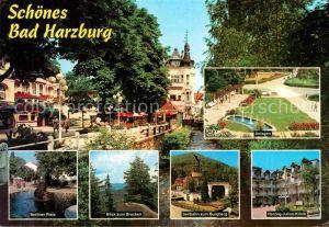 Bad Harzburg anlagen Berliner Platz Brocken Seilbahn zum Burgberg  Kat. Bad Harzburg