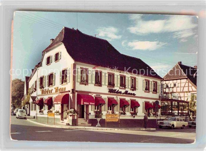 Bad Bergzabern Hotel Wilder Mann Kat. Bad Bergzabern