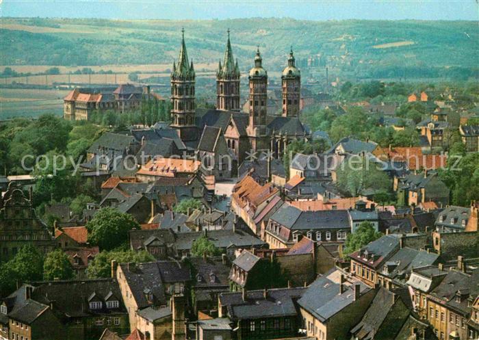 Naumburg Saale Stadtblick mit Dom Kat. Naumburg