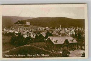 Neustadt Haardt Blick auf Dorf Haardt Kat. Neustadt an der Weinstr.