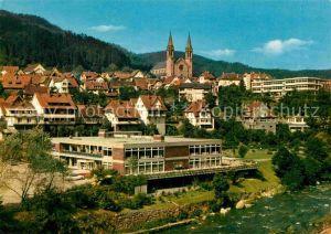Forbach Baden Hotel Restaurant Goldener Hirsch Kat. Forbach