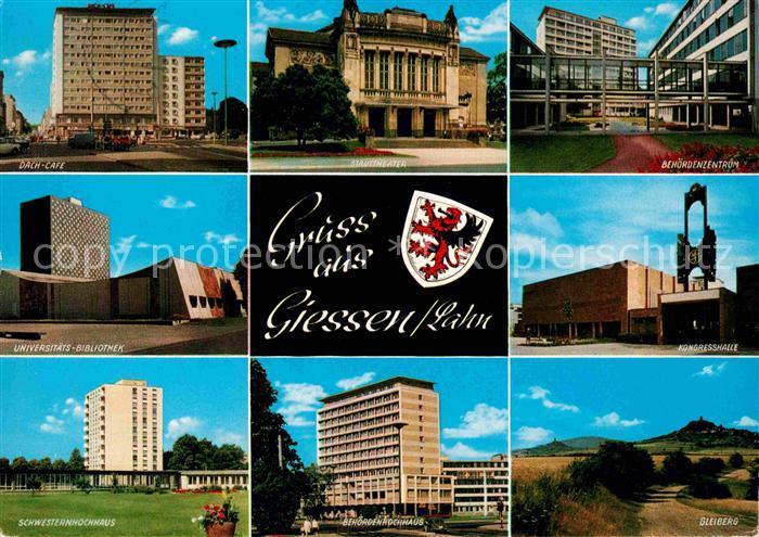 Giessen Lahn Universitaetsbibliothek Kongresshalle  Kat. Giessen