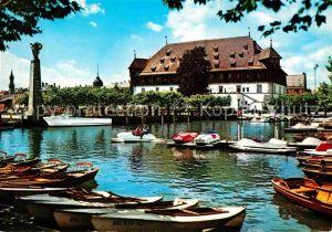 Konstanz Bodensee Gondelhafen und Konzil Kat. Konstanz