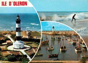 Ile d Oleron Phare de Chassiron et de La Cotiniere Kat. Saint Pierre d Oleron