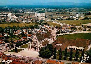 Bourg en Bresse Vue generale aerienne de l eglise de Brou Kat. Bourg en Bresse