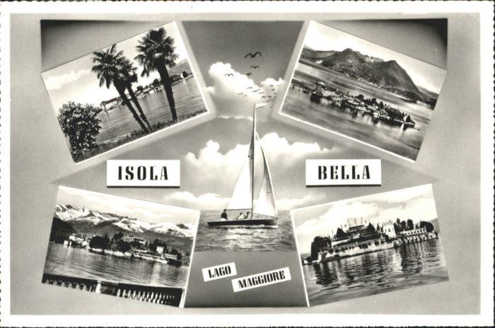 Isola Bella Isola Bella Lago Maggiore * / Lago Maggiore /