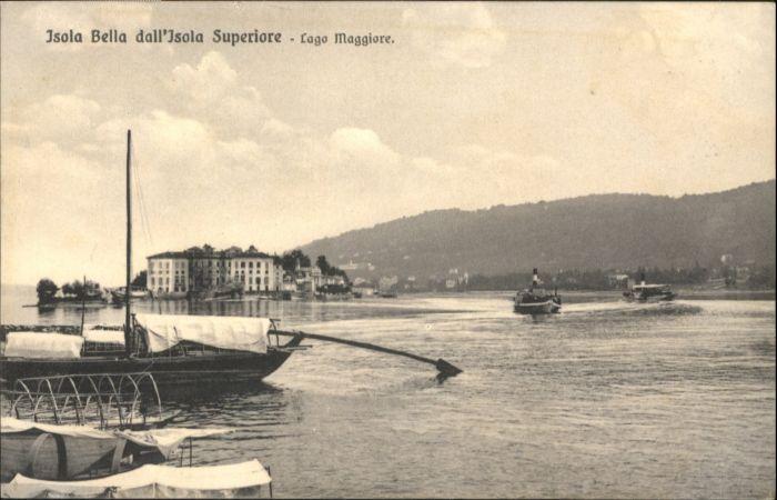 Isola Bella Isola Bella Boot * / Lago Maggiore /