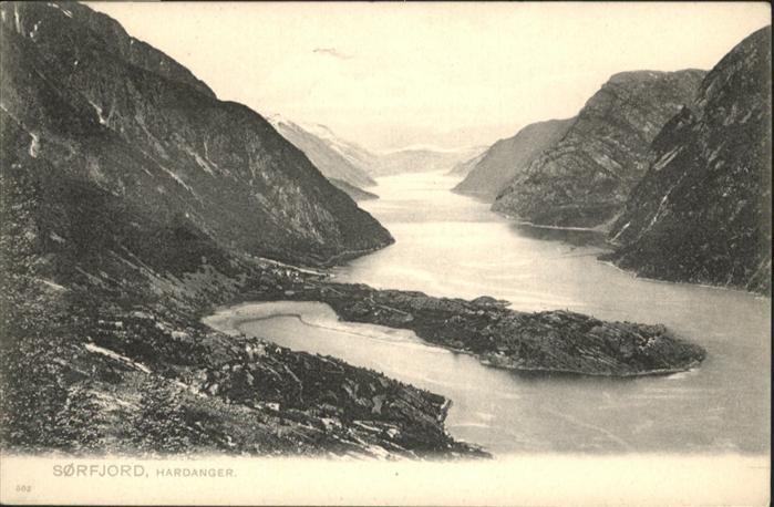 Hardangerfjord Sorfjord  /  /