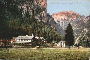 Tirol Region Schluderbach Ampezzo / Innsbruck /Innsbruck