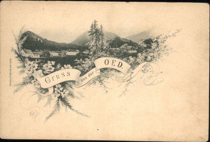 Oed-Oehling Oed  * / Oed-Oehling /Mostviertel-Eisenwurzen