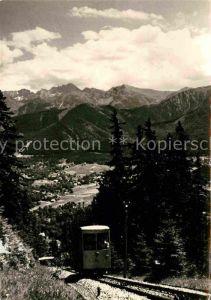 Zakopane Kolejka na Gubalowke Bergbahn Panorama Hohe Tatra Kat. Polen