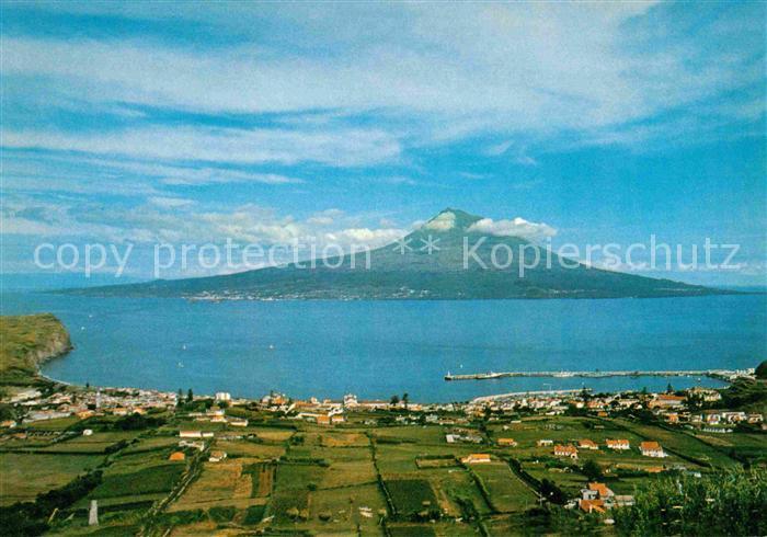 Acores Ilha do Pico Vista da Horta