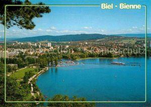 Biel Bienne Panorama Kat. Biel