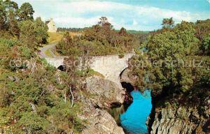 Perth Kinross Dulsie Bridge and River Findhorn