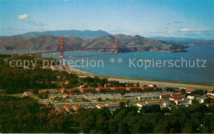 San Francisco California The Presidio Army Base Kat. San Francisco