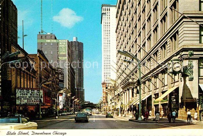 Chicago Illinois State Street Kat. Chicago
