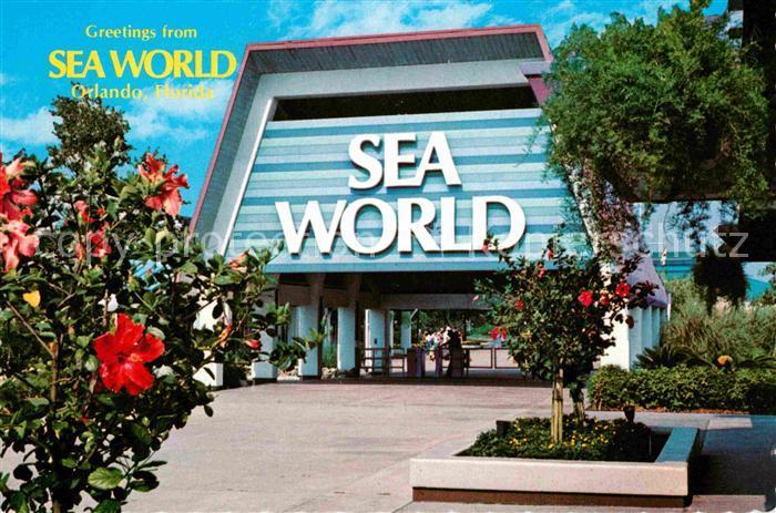 Orlando Florida Sea World Oceanarium Kat. Orlando