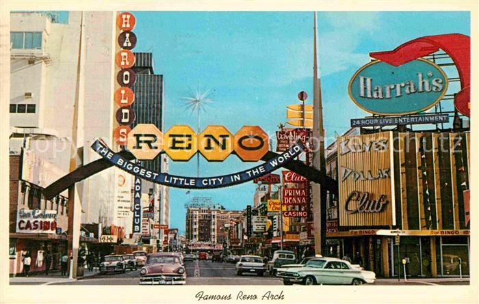 Reno Nevada Virginia Street Kat. Reno