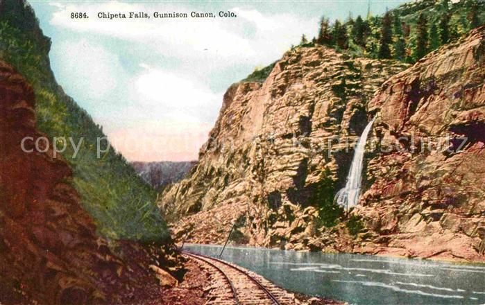 Colorado City Colorado Chipeta Falls Kat. Colorado City