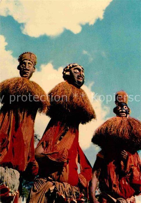 Kamerun Masques africains bamoun Kat. Kamerun
