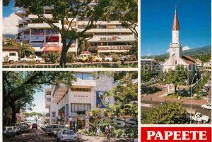Papeete Cathedrale et centre Vaima Kat. Papeete