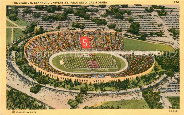 Stadion Stanforf University Palo Alto California  Kat. Sport