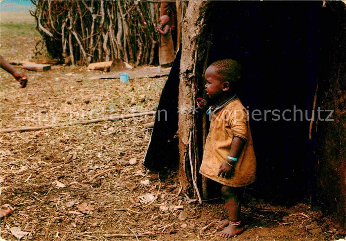 Typen Afrika East Africa Masai Child