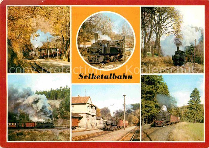 72629880 Lokomotive Selketalbahn Bahnhof Alexisbad  Eisenbahn Lokomotive