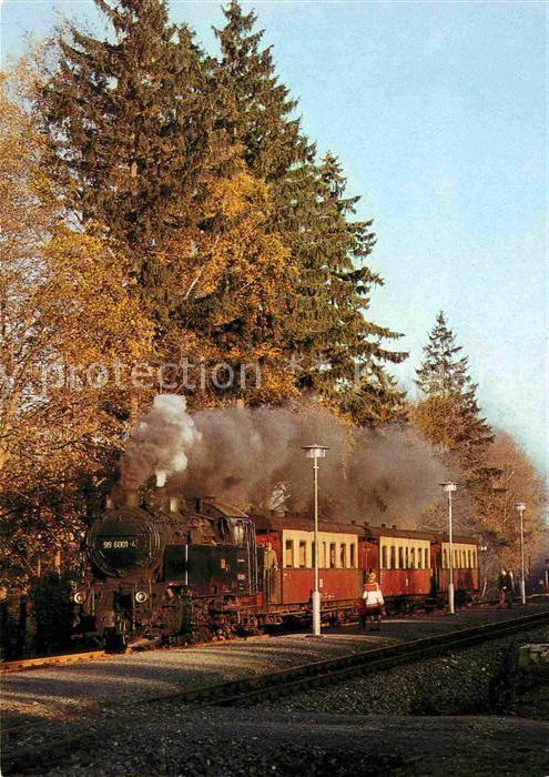 72629898 Lokomotive Selketalbahn Bahnhof Friedrichshoehe  Eisenbahn Lokomotive