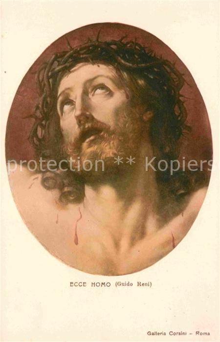 Jesus Ecce Homo Guido Reni  Kat. Christentum
