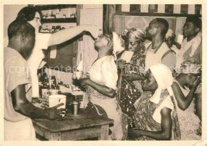 Apotheke Lambarene Afrika Kat. Handel