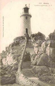Leuchtturm Lighthouse Jersey Corbiere Lighthouse  Kat. Gebaeude