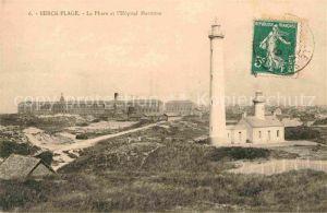 Leuchtturm Lighthouse Berck Plage Phare Hopital Maritime  Kat. Gebaeude