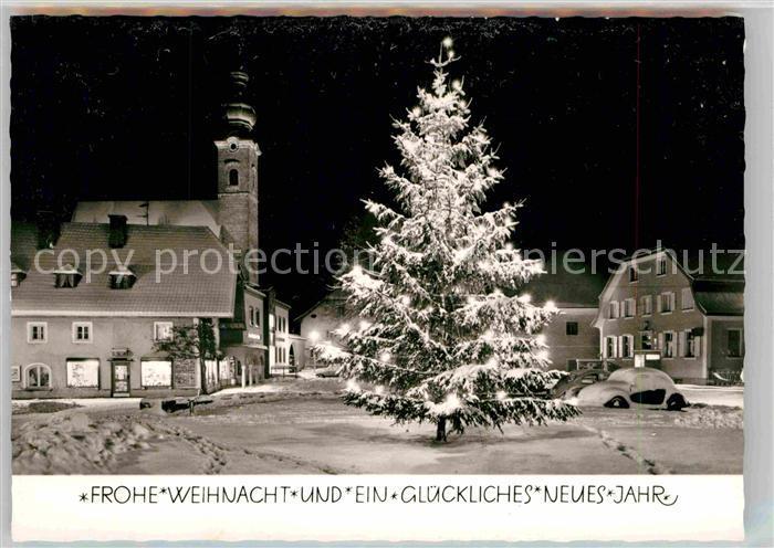 Glueckwunsch Weihnacht Neues Jahr Winter Weihnachtsbaum Kat ...