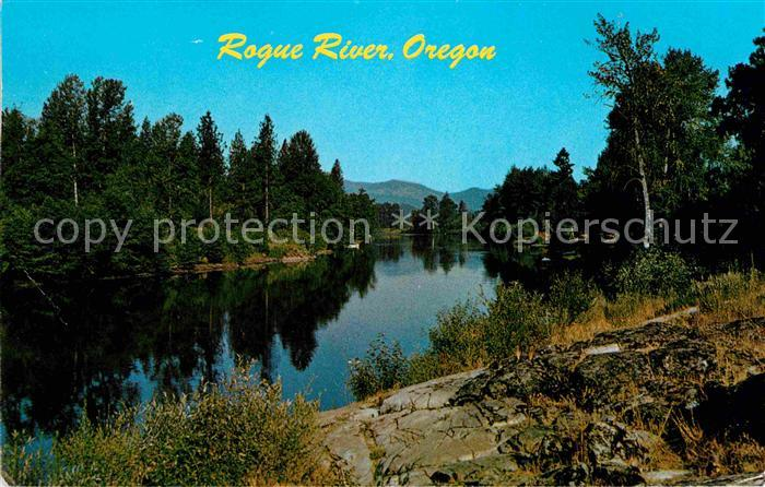 Oregon US State Rogue River