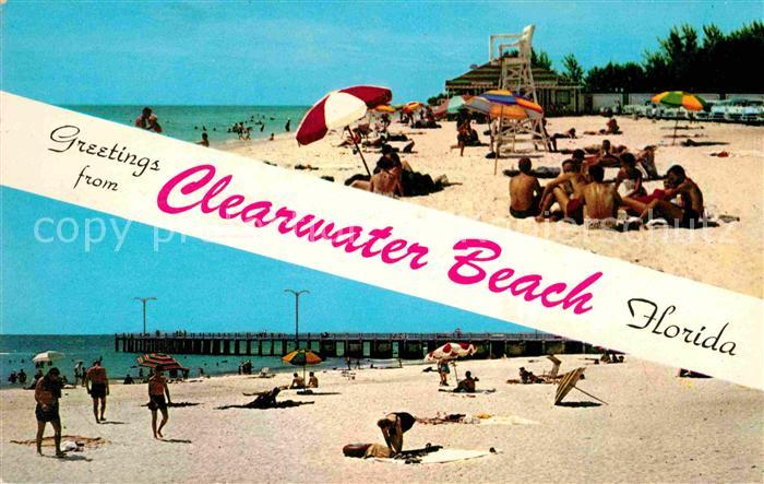 Florida US State Clearwater Beach