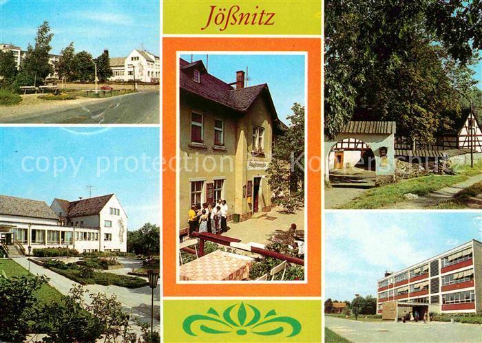 Joessnitz Erholungsheim Richard Mildenstrey Restaurant Pfaffenmuehle Lochbauer  Kat. Plauen