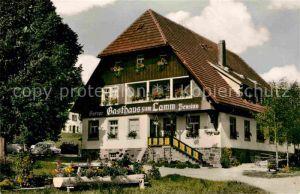 Guendelwangen Gasthaus Pension zum Lamm Kat. Bonndorf