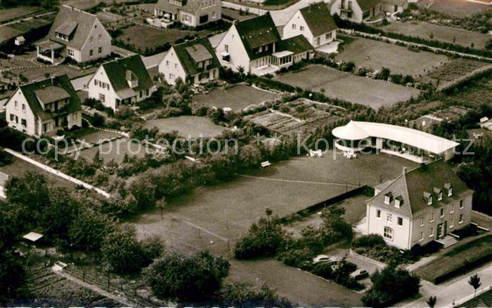 Iburg Bad Fliegeraufnahme Kneipp Sanatorium  Kat. Bad Iburg