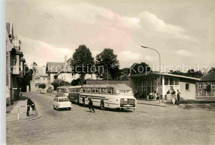 Barth Busbahnhof Kat. Barth